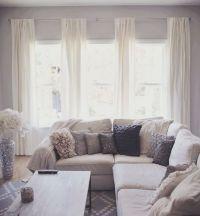 Best 20+ Living room curtains ideas on Pinterest | Window ...