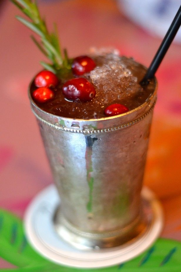 Holiday Cocktails Jingle Julep  httpwwwhgtvgardens