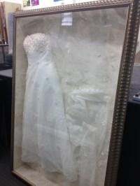 Framed Wedding Dress | DIY Ideas | Pinterest