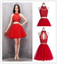 Best 25+ Short Red Dresses ideas on Pinterest | Red prom ...