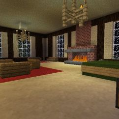 How To Make Living Room Furniture In Minecraft Coastal Accent Chairs Bedroom Decorating Ideas | ...