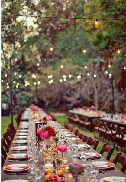 343 Best Images About Outdoor Dinner Party Ideas On Pinterest