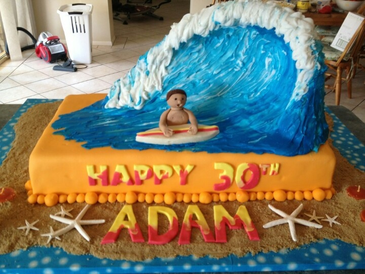 Wave Cake Words Pinterest Waves Cakes And Wave Cake