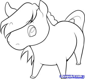easy horse draw drawings drawing step horses cartoon animals simple animal sketches steps dragoart farm head tutorial line face clothes