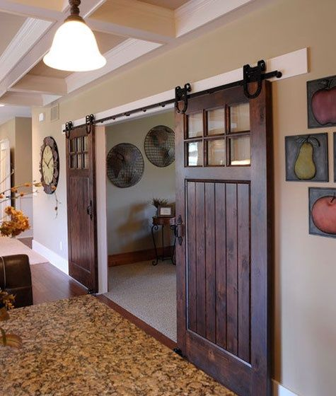 country style doors  Country loft wall art has taken a leap into the future Whatever makes