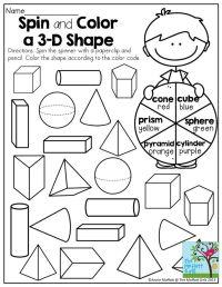 25+ best ideas about 3d Shapes on Pinterest   3d shapes ...
