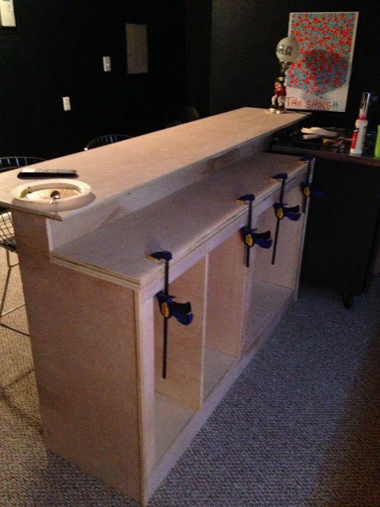 Building A Basement Bar  Woodworking Projects & Plans