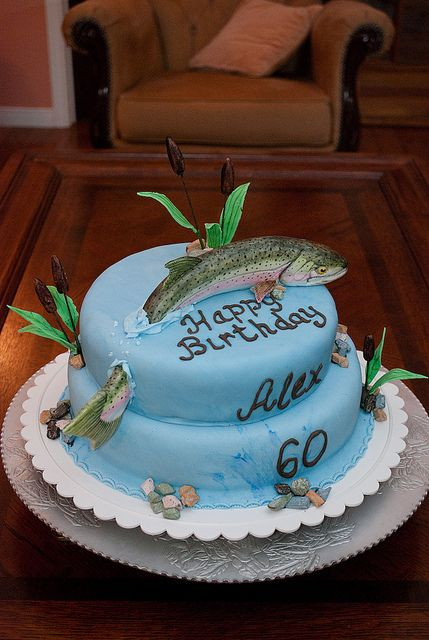Fishing Birthday Cakes For Men Recent Photos The Commons