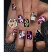 vegas leximartone - nail art