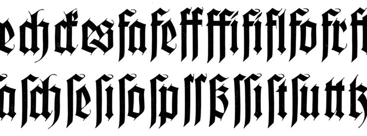 17 Best images about Gothic Script on Pinterest