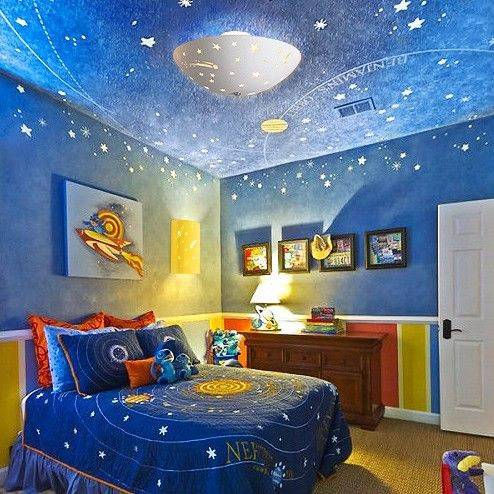 25 best ideas about Space Theme Bedroom on Pinterest
