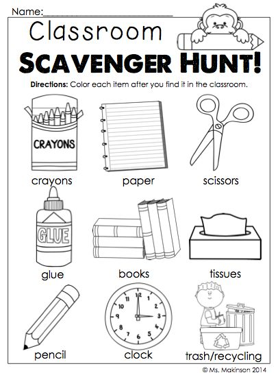 Top 25+ best Classroom scavenger hunt ideas on Pinterest