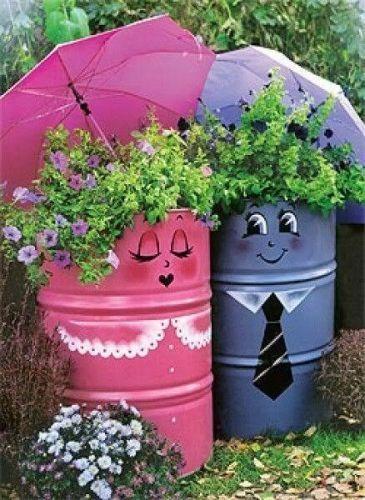 411 Best Images About Cute Flower Pots On Pinterest Gardens