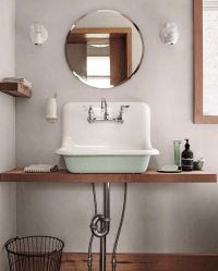 25+ best ideas about Farmhouse bathroom sink on Pinterest ...