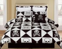 skull and crossbones bedding set | Bedding | Pinterest ...