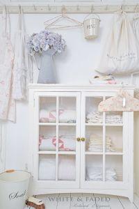 Laundry room   White & Faded   Pinterest   Chic, Shabby ...