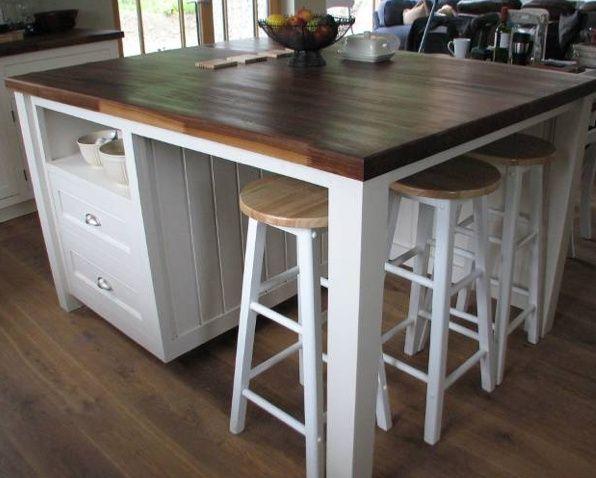 25 best ideas about Build kitchen island on Pinterest