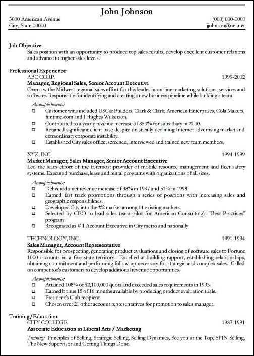 Resume Examples For It Professionals Examples of Resumes