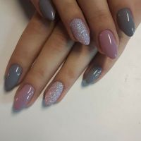 Best 20+ Grey nail designs ideas on Pinterest | Gel nail ...