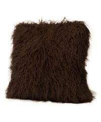 Donna Salyers' Fabulous-Furs Brown Mongolian Faux Fur ...