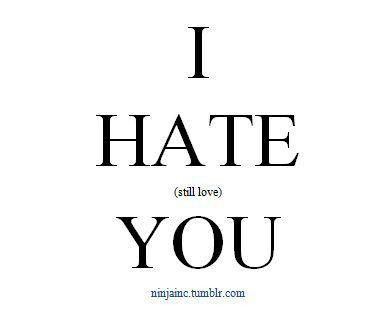 100 best images about I love you but I hate you. on