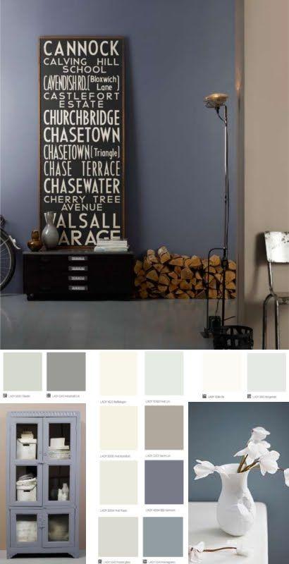 17 beste ideen over Grijs Interieur Verf op Pinterest