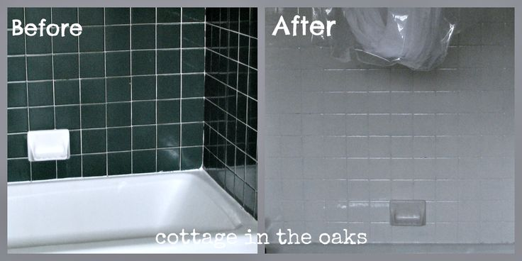 Refinishing Tile Our Miracle Method Cottage Bath
