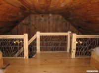 Interior Wood Balcony Railings rustic wood railing http