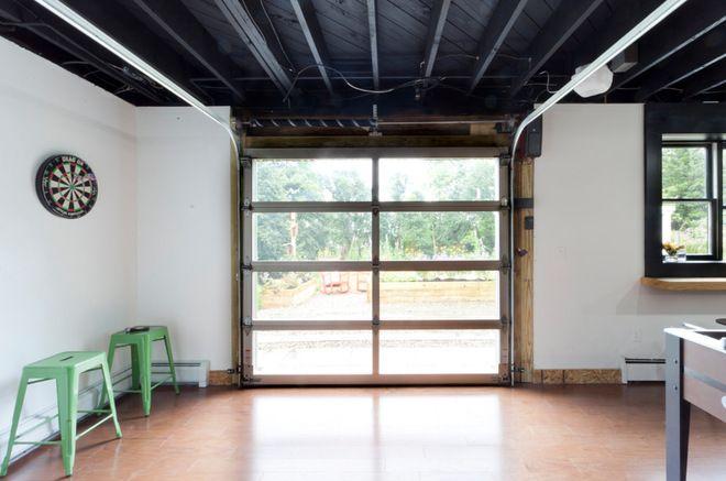 Cool garage door option for walkout basement  garage  Pinterest  The outdoors Raising and