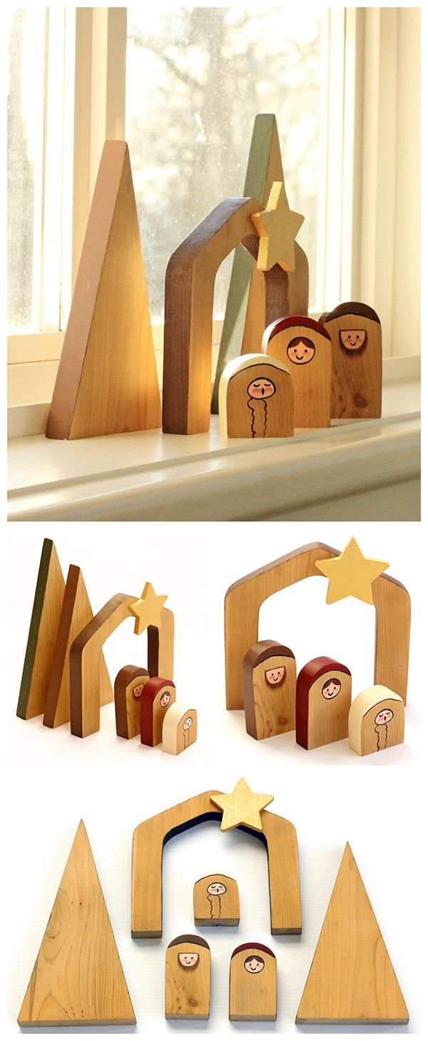Free Wood Pattern For Nativity WoodWorking Projects Amp Plans