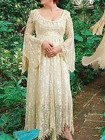 peasant style wedding gowns  Future wedding dresses  Pinterest  Wedding Gowns Gowns and Style