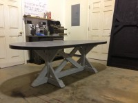 Zinc table from SDS Designs | Mom and Dad's Board ...