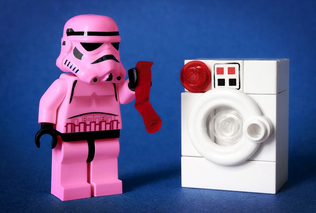 Stormtrooper Laundry Problem –  Im laughing the weird awkward laugh that makes p