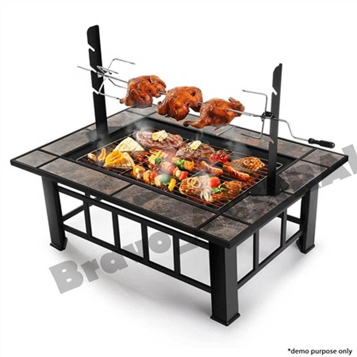 Hitzer Barbeque Grill Fire Pit Woodlanddirect Outdoor