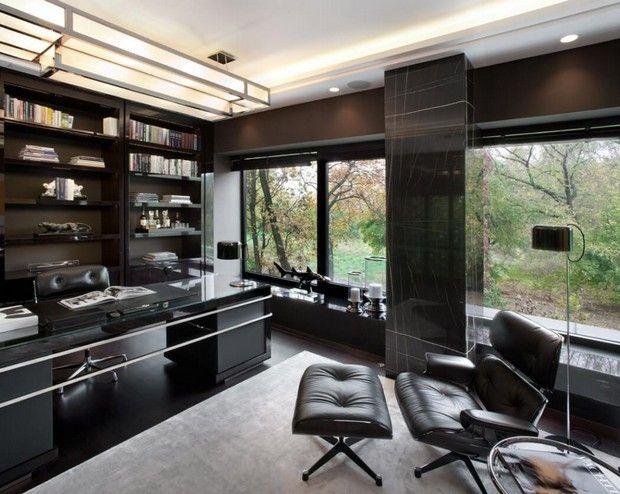 25 Best Ideas About Luxury Office On Pinterest Office Built Ins
