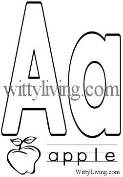 13 best images about alphabet coloring sheets on Pinterest