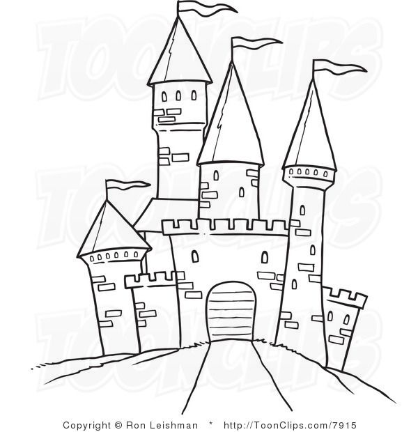 Best 25+ Castle drawing ideas on Pinterest