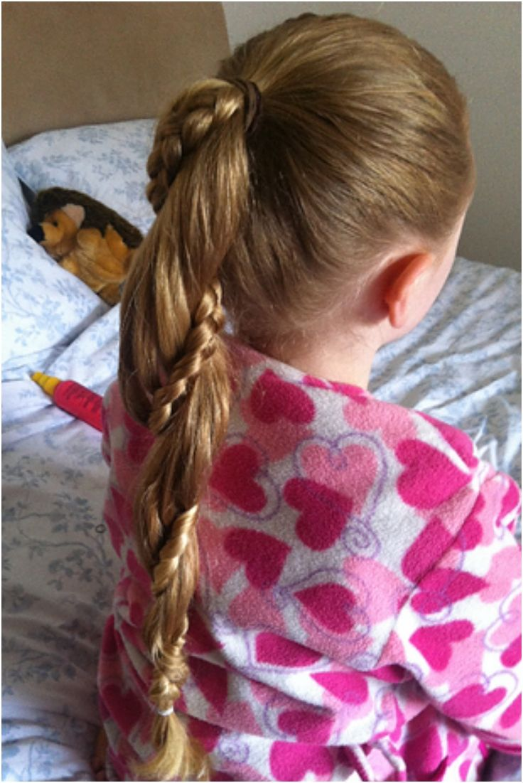 Top 10 Darling Hairdos For Your Little Princess  Rapunzel Pony tails and Twists