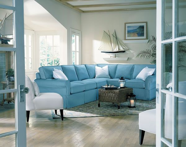beach house sofa slipcover ikea kramfors brown leather sale what do you think about the sectional? like boat ...