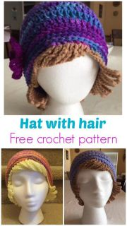 ideas crochet hair