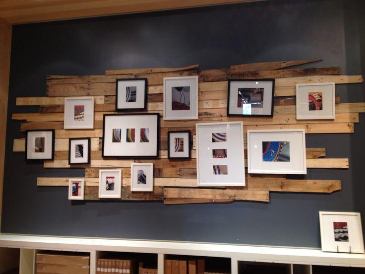 Reclaimed wood wall decor  Decorating  Pinterest