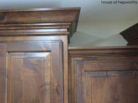 knotty alder cabinets with dark stain | Kitchen ...