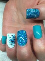 ideas turquoise nail