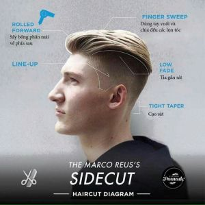 Trendy Hair Styling for Men With Undercut 2016