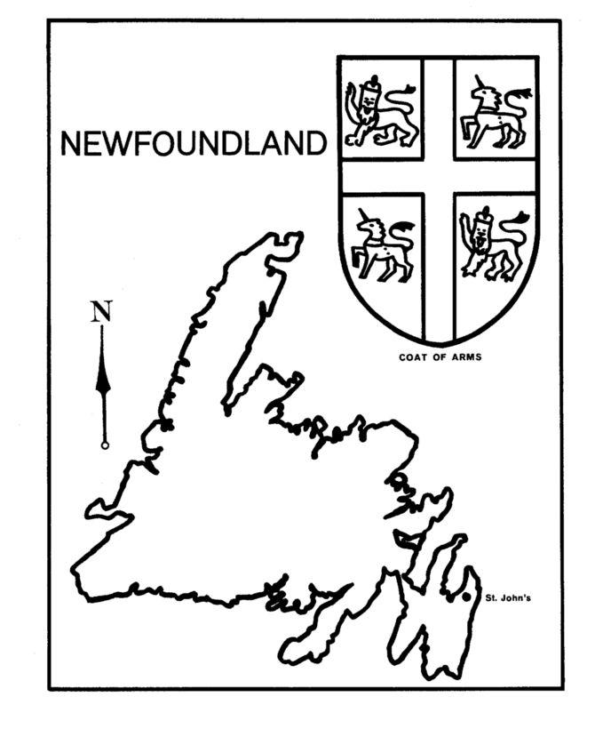 25+ best ideas about Newfoundland map on Pinterest