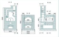 Russian furnace bricks for furnaces and fireplaces, design ...