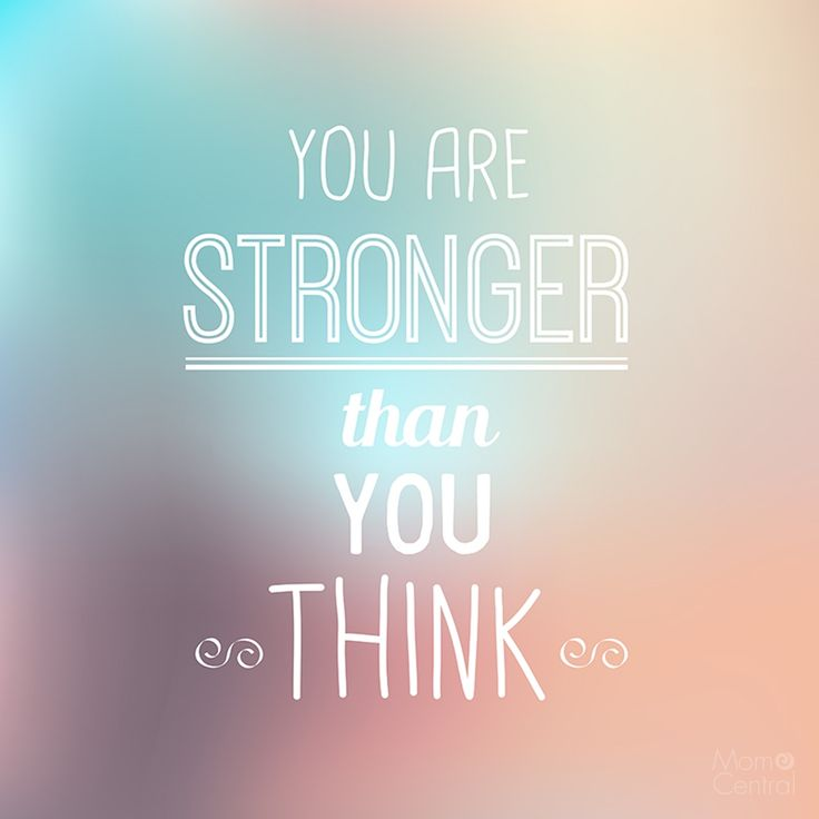 Hd Fall Wallpap You Are Stronger Than You Think Quote Of The Day