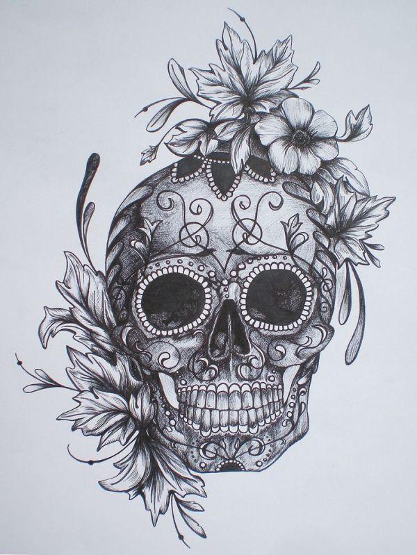 ideas candy skulls