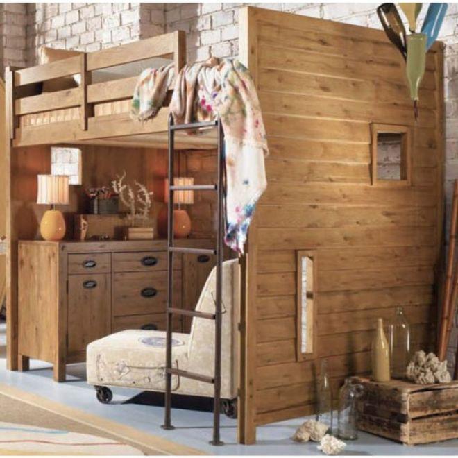 Full sized loft bed ideas for kate pinterest bunk