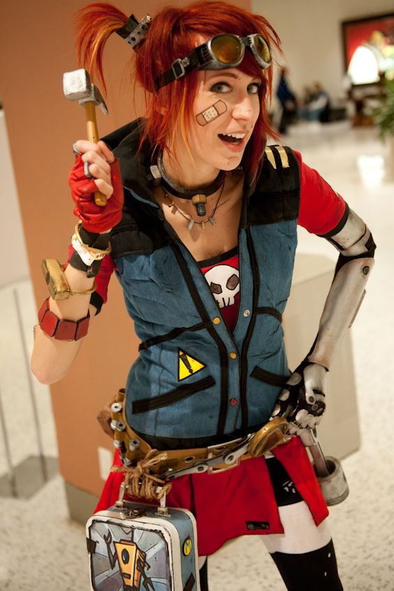 Gaige, The Mechromancer!! Borderlands 2…by far the best playable character in the video game!